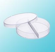 2 Compartment Petri Dish